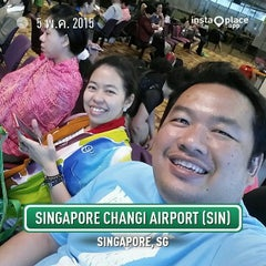Photo taken at Gate F54 by Ton P. on 5/5/2015