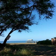 Photo taken at Waimea Recreation Pier by ernie e. on 3/27/2015