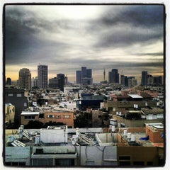 Photo taken at The Carlton Hotel Tel Aviv by Chris L. on 2/5/2013