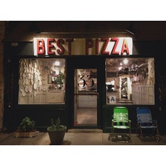 Photo taken at Best Pizza by Tien M. on 11/20/2013