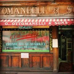 Photo taken at Ottomanelli's Meat Market by Aurelio B. on 6/4/2013