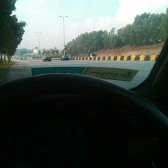 Photo taken at Plaza Tol Bukit Jelutong by Ikmal S. on 8/17/2015