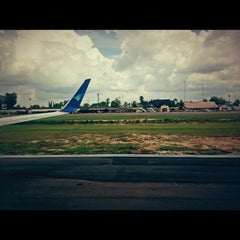 Photo taken at Bandara Sultan Thaha Syaifuddin (DJB) by jerry m. on 2/12/2013