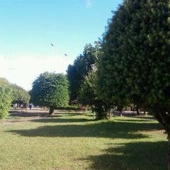 Photo taken at Plaza de Armas de Fresia by Yoselyn F. on 3/11/2013