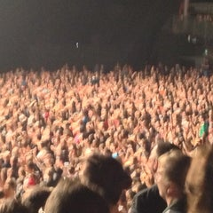 Photo taken at Zénith Arena by Cedric C. on 12/22/2012