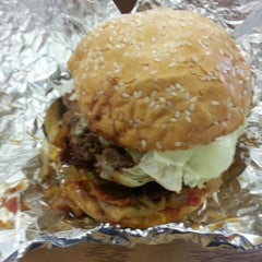 Photo taken at Five Guys by Top K. on 11/16/2012