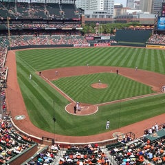 Photo taken at Oriole Park at Camden Yards by Nathan D. on 6/12/2013