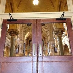Photo taken at St. Francis Xavier Catholic Church by Jason S. on 3/10/2013