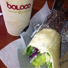 Photo taken at Boloco by Adam M. on 7/11/2013