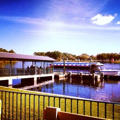 Photo taken at Friendship Boat Dock - Disney's Hollywood Studios by Henrique D. on 1/31/2013