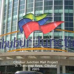 Photo taken at Cibubur Junction by Mas B. on 10/18/2012