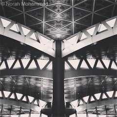 Photo taken at King Khalid International Airport (RUH) مطار الملك خالد الدولي by Norah M. on 5/26/2013