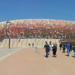 Photo taken at FNB Stadium by Rui M. on 10/6/2012