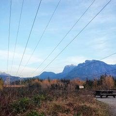Photo taken at Wallace Falls Trail by Ekaterina B. on 3/9/2015