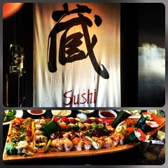 Photo taken at Kura Sushi by Jordan R. on 11/10/2012