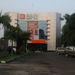 Photo taken at Bank BNI Cilegon by Epoel S. on 3/14/2014