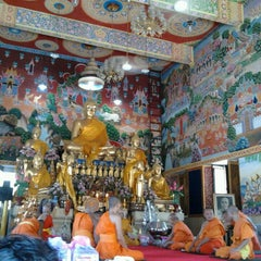 Photo taken at วัดนครป่าหมาก (Wat Nakorn Pa Mak) by Polwasu S. on 6/30/2013