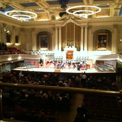 Photo taken at Mechanics Hall by Mary H. on 3/3/2013