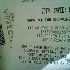 Photo taken at Kohl's by DINGS & THINGS Mobile on 4/14/2014