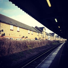 Photo taken at Grove Park Railway Station (GRP) by Nadya K. on 3/1/2014