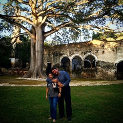 Photo taken at Hacienda Uayamon by Jorge R. on 11/23/2014