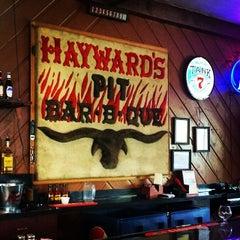 Photo taken at Hayward's Pit Bar-B-Que by Alex K. on 6/6/2014