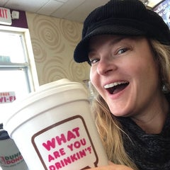 Photo taken at Dunkin Donuts by Katherine B. on 2/1/2013