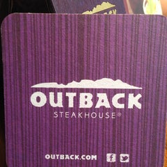 Photo taken at Outback Steakhouse by Jeremy R. on 3/3/2013