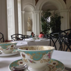 Photo taken at Orangery at Kensington Palace by Alexander K. on 6/17/2013