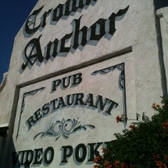Photo taken at Crown & Anchor Pub by Sasha S. on 6/4/2013