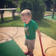 Photo taken at Congo River Miniature Golf by Joseph M. on 8/2/2014