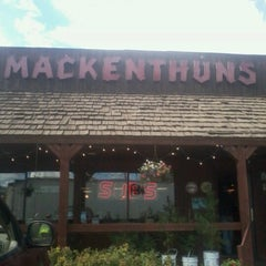 Photo taken at Mackenthuns Meats & Deli Inc by Josh H. on 9/18/2012