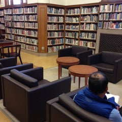 Photo taken at Sunset Branch Library by Derek B. on 9/15/2013