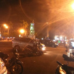 Photo taken at Alun Alun Tegal by Rifka A. on 7/26/2014