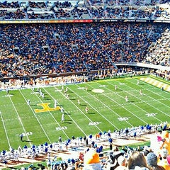 Photo taken at Neyland Stadium by Jonathan O. on 11/24/2012