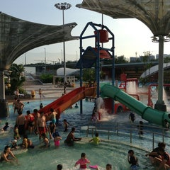 Photo taken at Sengkang Swimming Complex by Shayne N. on 7/28/2013
