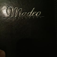 Photo taken at Madeo Restaurant by Jim J. on 10/7/2015