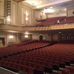 Photo taken at The Sandusky State Theatre by David S. on 3/19/2014