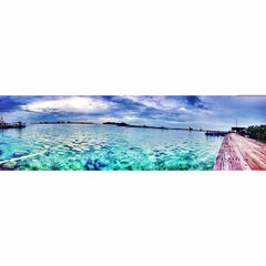 Photo taken at Pulau Panggang by Deva P. on 12/29/2014