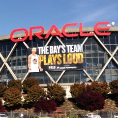 Photo taken at Oracle Arena by Nael M. on 4/28/2013