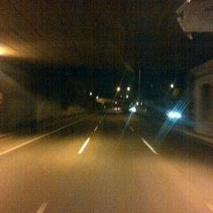 Photo taken at Jalan Tol Lingkar Luar Jakarta Seksi W2 Selatan (JORR W2 S) by Alponso P. on 12/30/2012