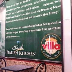 Photo taken at Villa Fresh Italian Kitchen by Richarf S. on 12/22/2013