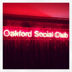 Photo taken at The Oakford Social Club by Bobby C. on 2/18/2013