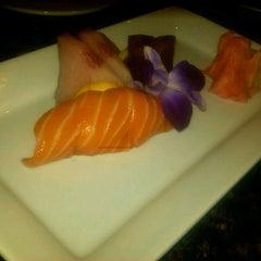 Photo taken at Seven Steakhouse Sushi Ultralounge &  Skybar by Steve F. on 10/9/2012
