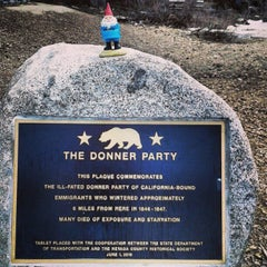 Photo taken at Donner Pass Summit by Kimberlee C. on 5/3/2013