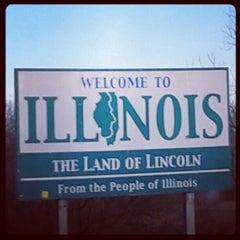 Photo taken at Missouri / Illinois State Line by Kimberlee C. on 2/6/2013