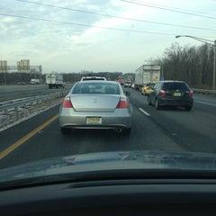Photo taken at I-80 (Interstate 80) by Cara C. on 1/17/2013
