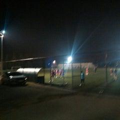 Photo taken at Abdurrahman Temel Futbol Sahası by ENGİN K. on 11/12/2015