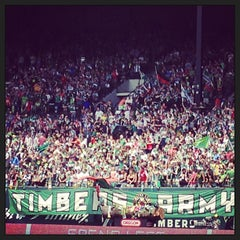 Photo taken at Providence Park by April Y. on 6/15/2013
