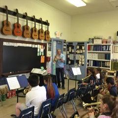 Photo taken at Silver Bluff Elementary School by Juan C. on 4/9/2015